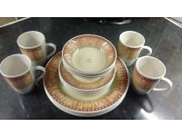 16 Piece Dinner set. Ports Of Call By Jeff Banks