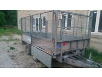 10x5 ifor Williams mesh sided trailer 3.5t