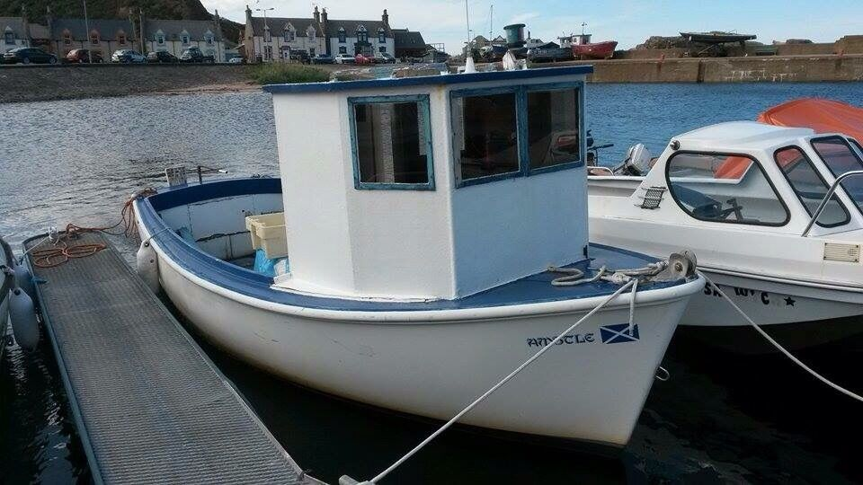 Plymouth Pilot 18ft Fishing Boat For Sale Final Price