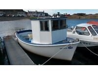 Plymouth pilot 18ft fishing boat for sale