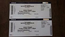 Natalie Imbruglia x 2 Tickets - Union Chapel, London - Fri 12th May 2017