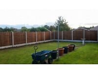 FENCING MATERIAL SUPPLY&FIT - 10xPanels/10xGravel boards/11xPosts+Delivery SALE!
