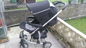 hauck malibu buggy with full rain cover now reduced