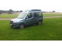 Fiat Doblo Disability Access Car with Ramp and Winch - Swap for Automatic