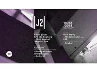 Junction 2 : The Launch at Tobacco Dock London : Saturday 10th Feb 2018