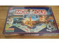Limited Edition Monopoly Manchester Board Game Brand New Sealed in Original Packaging