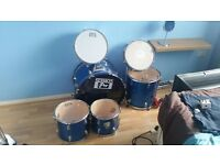 Practice Drums, Used but decent, no cymbals