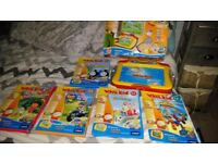 vtech Whiz Kid learning system, and games