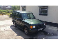 2001 LANDROVER DISCOVERY TD5 7 SEATER