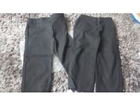 set of 2 trousers £3 for the pair,2 Sets available in black, 1 set available in grey