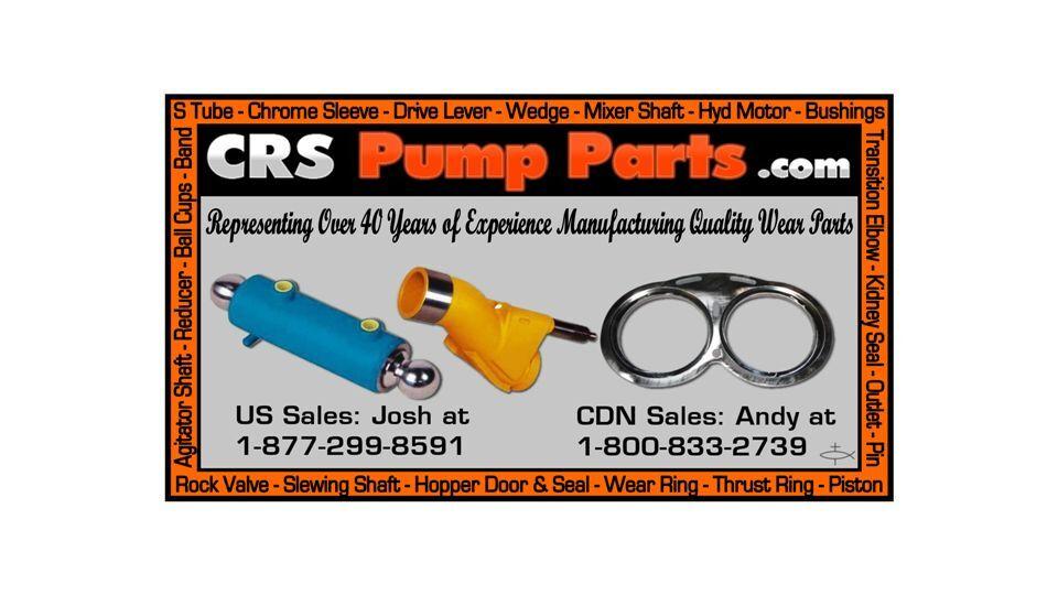 CRS Pump Parts USA