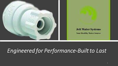 John Guest RO Faucet Adaptor Water Fitting (3/8