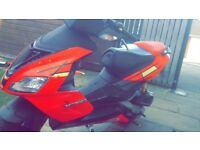 Aprilia sr 50cc moped for swap or 600 will take offer