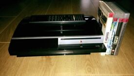 Faulty PS3 with remote and games