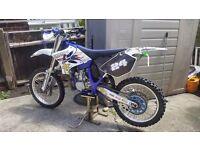 //// 2004 Yamaha yz250 2stroke //// PX 4 STROKE / 2STROKE ETC ?? 85 125 250 450 ????