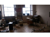Shared rehearsal/practice studio ancoats, £130/month