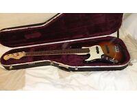 Left Handed Fender Jazz Bass Deluxe USA
