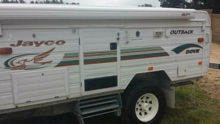 2002 Jayco Dove Outback 14ft pop top
