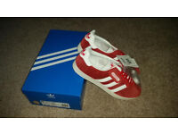Brand new, Adidas Gazelles. Boxed and tags.