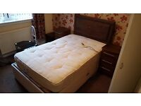 Electric adjustable bed queen size