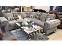 NEW VERONA (KINGSTON FABRIC) CORNER & 3+2 SEATER SOFA SET AVAILABLE IN CHEEP RATE