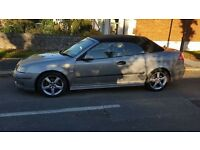 Saab 9-3 Vector Convertible, Private Plates, New MOT , Excellent Runner £1695 OVNO