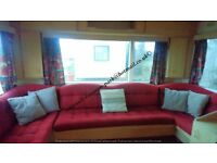 FULLY EQUIPPED TWO BEDROOM 4-5 BERTH CARAVAN TO RENT PERRANPORTH CORNWALL