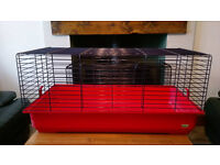 Guinea Pig/Rabbit Cage - FEBERPLAST 100 Indoor Cage with Large Hay Rack