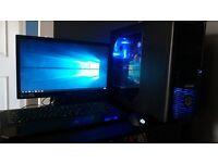 CYBERPOWER - Gaming Empire Elite II Gaming PC bundle & headset