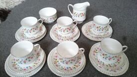 Paragon China Anastasia Vintage Tea Set