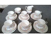 Paragon China Anastasia Vintage Tea Set