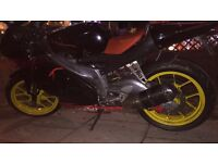 Aprillia RS 125 (660cc engine fitted) *registered as 125*