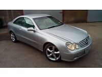 mercedes clk 270 cdi. new mot. 6 speed diesel