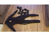 Bodyglove Womens Small scuba wetsuit, gloves and boots - WORN ONCE