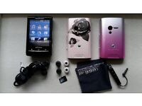 Sony Ericsson Xperia X10 mini black ( unlocked ) in very good condition + accessories for sale  Erdington, West Midlands
