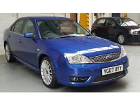 2007 FORD MONDEO ST 2.2 TDCI BLUE+1 OWNER+FULL SERVICE HISTORY+ONLY 66K