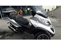 piaggio mp3 500 low mileage