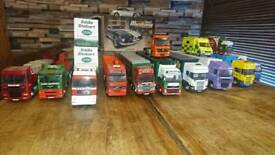 Model collectable trucks