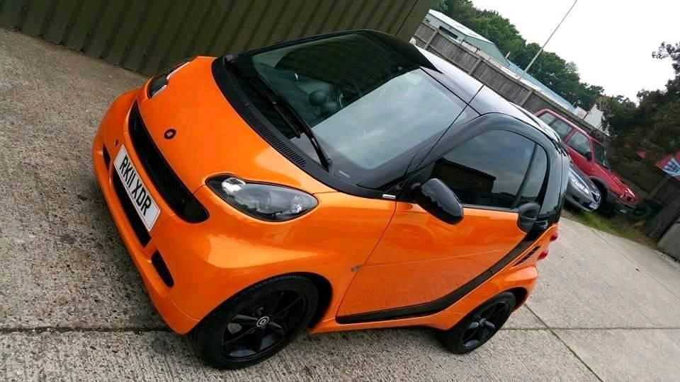 Sold Limited Edition Smart Car Night Orange Free Tax