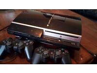 PlayStation 3 with controllers