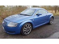 Audi TT 225Bhp Quattro 6 Speed **12 MONTHS MOT*Service History*Blue Leather Interior*Part-Ex Welcome