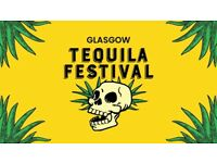 Glasgow Tequila Festival 2 Tickets Face Value