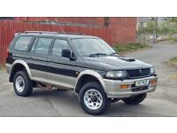 Mitsubishi Shogun Sport 2.5td with VERY low miles 74k , 11mth mot. tow bar