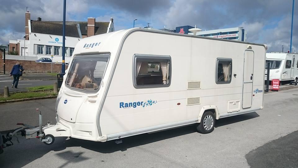 Bailey Ranger 550 6 Berth Caravan Awning 2007 VGC Bargain
