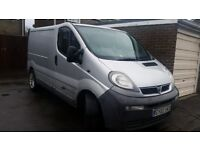 vauxhall vivaro 1.9 cdti converted camper needs attention silver tv fridge rock and roll bed etc etc