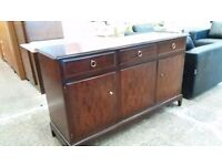 Stag 3 drawer sideboard with 3 doors