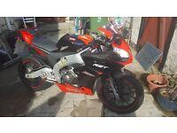 aprilia rs4 125 +extras/mods £2000