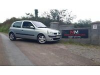 04 RENAULT CLIO 1.2***11 MONTH MOT***1 PREVIOUS OWNER