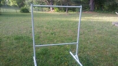 Heavy Duty Welded Pipe Clothes Rack Clothing Great For Flea Market Shop Owners