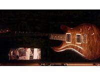 For sale :PRS Custom 24 TEN TOP,Burn Almond ,HFS Bridge , Vintage Bass Neck pickups.